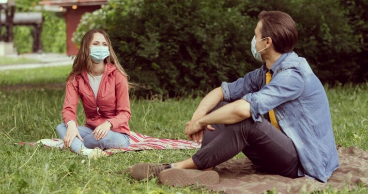 COVID-19: Dating in a Socially Distanced and Masked World